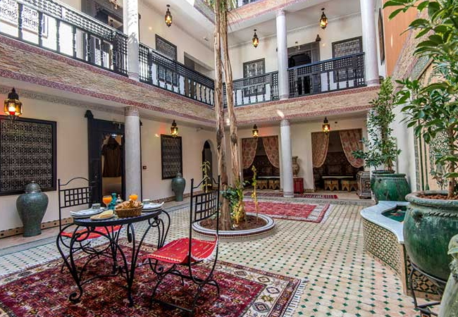 Riad hotel luxe Marrakech - place jemaa