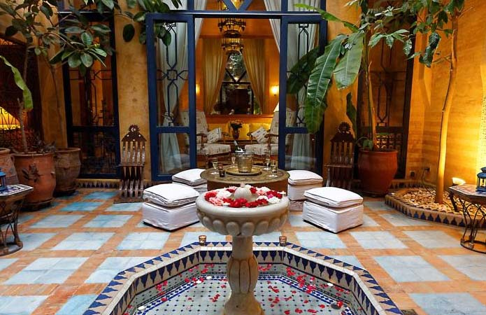 Riad de charme Marrakech : son patio