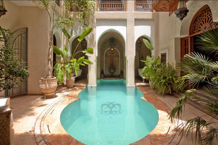 Riads de charme marrakech riad marrakech voyage luxe for Riad medina marrakech avec piscine