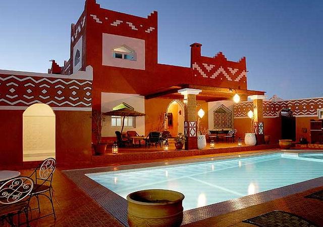 Maison d 39 h te de charme charmant riad ouarzazate id e de s jour au maroc - Maison ouarzazate ...