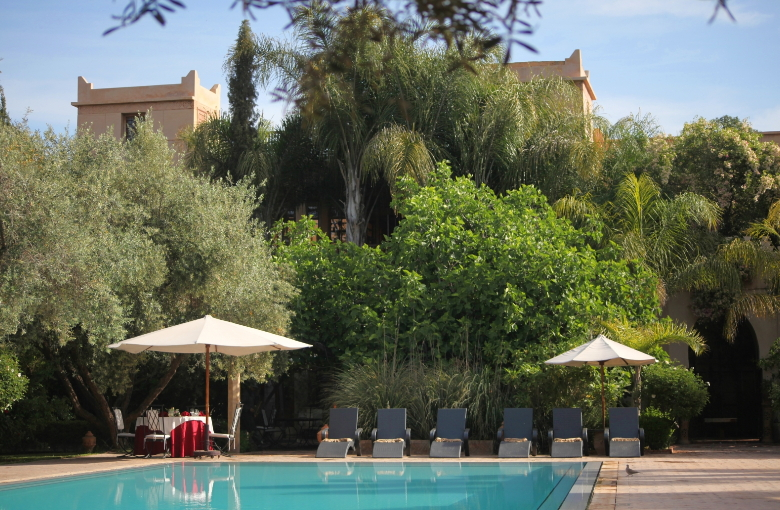 Riads de luxe Marrakech : Country Club !